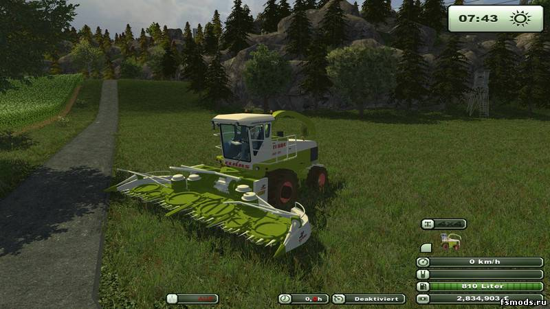 CLAAS Orbis 750 для Farming Simulator 2013
