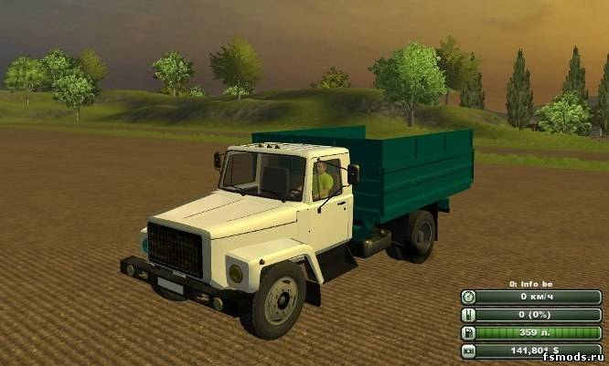 ГАЗ 3307 для Farming Simulator 2013