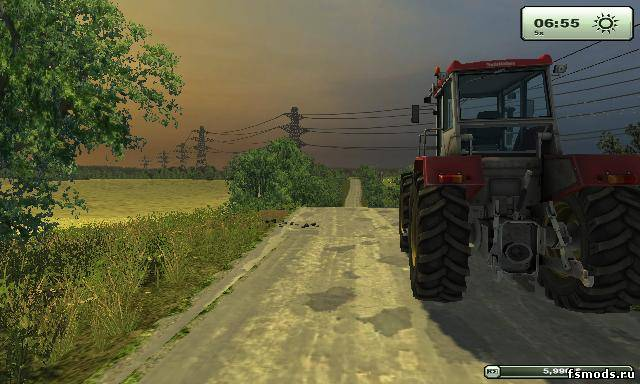 Русская карта от Cou... для Farming Simulator 2013