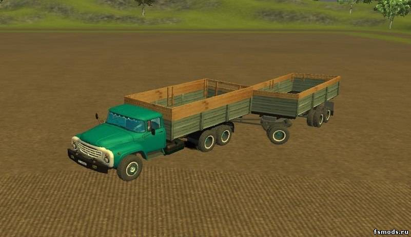 ЗИЛ 133 и прицеп для Farming Simulator 2013