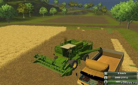 Скачать ДОН 1500 Ростсельмаш для Farming Simulator 2013