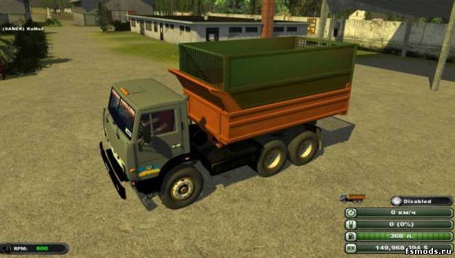 КАМАЗ 55102 для Farming Simulator 2013