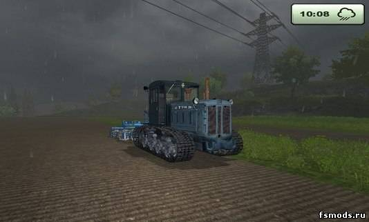 Скачать T 74 для Farming Simulator 2013