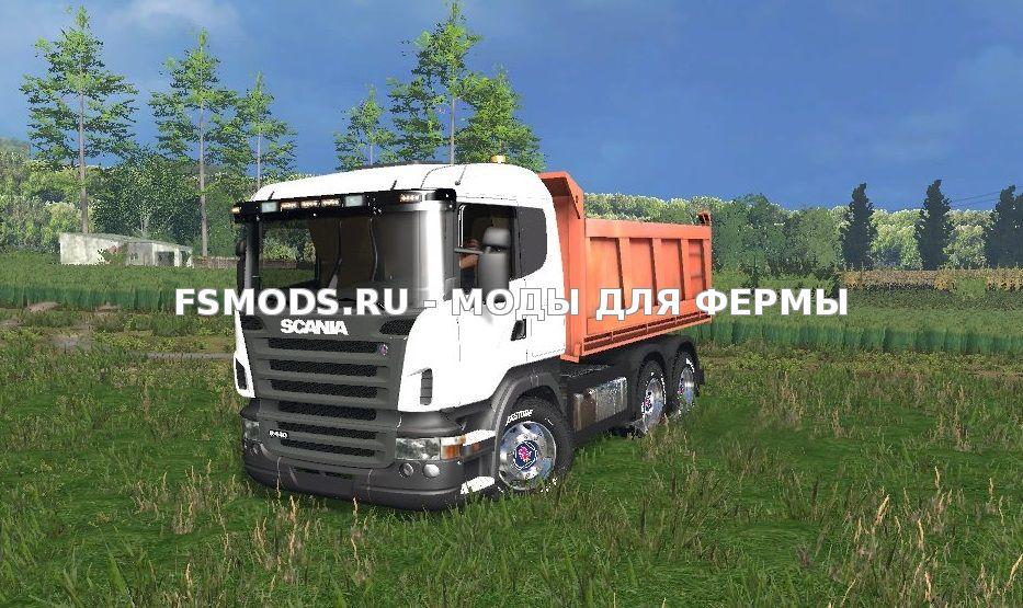 Скачать Scania R440 для Farming Simulator 2015