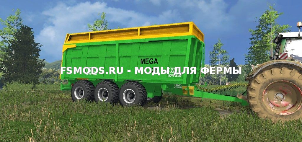 Скачать ZDT Mega 25 для Farming Simulator 2013