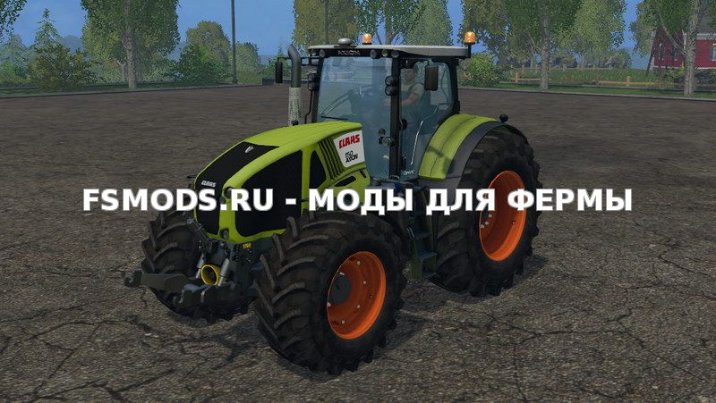 Скачать Claas Axion 950 v5.0 для Farming Simulator 2015