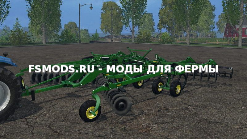 Скачать John Deere 2720 v3.0 для Farming Simulator 2015