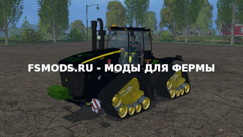 Скачать John Deere 9630 Black Edition v1.0 для Farming Simulator 2015