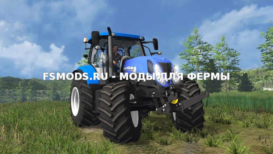 Скачать New Holland T7.170 для Farming Simulator 2015