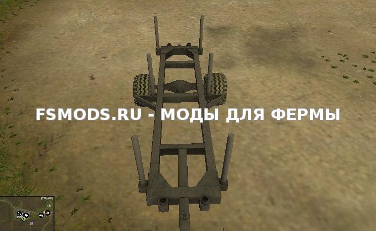 Скачать Wood trailer для Farming Simulator 2015