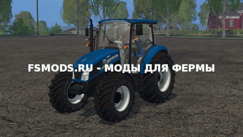 Скачать New Holland T4 75 v2.0 для Farming Simulator 2015