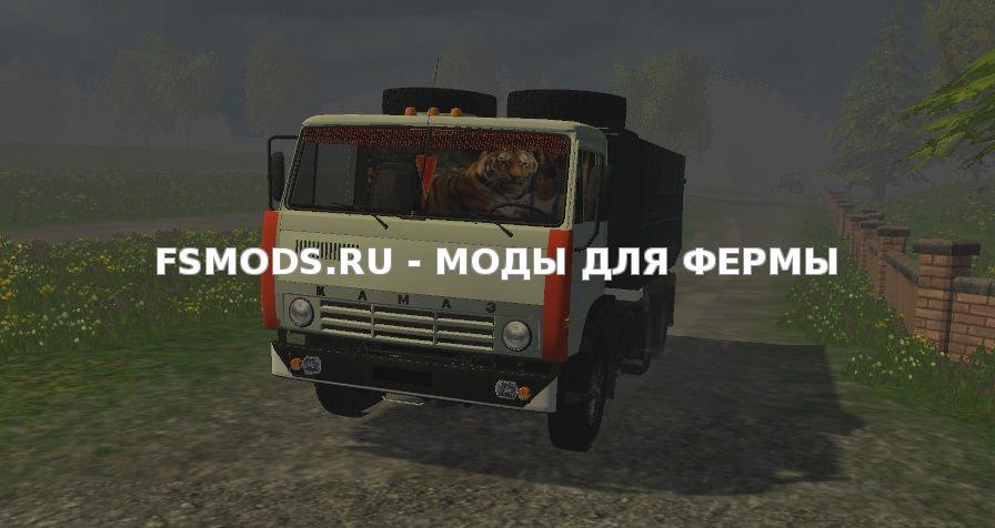 Скачать KAMAZ_551111 для Farming Simulator 2015