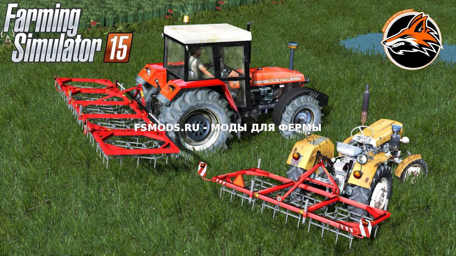 Скачать Jarmet 3 and 5 для Farming Simulator 2015