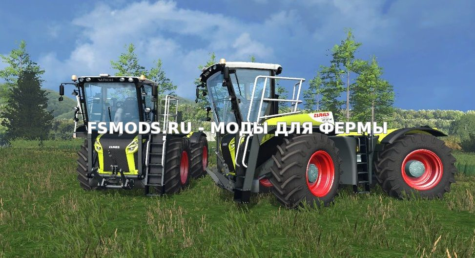 Скачать Claas Xerion 4000 Saddle Trac v 0.8 Beta для Farming Simulator 2015