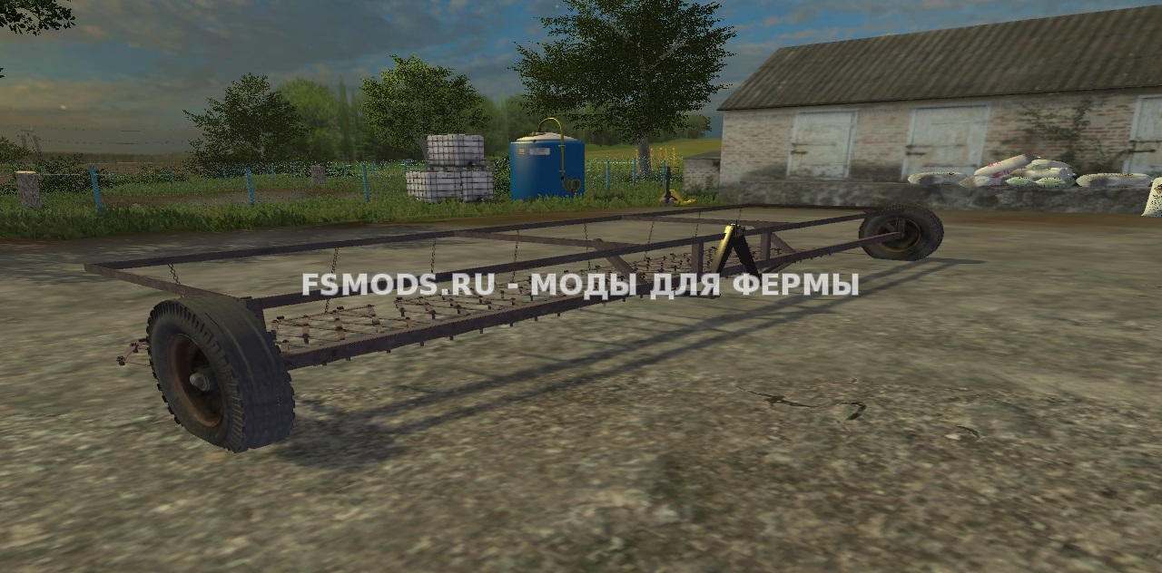 Бороны 8шт для Farming Simulator 2015