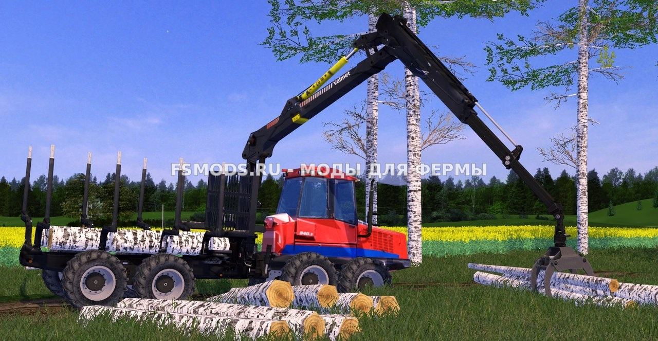 Valmet840 & Valmet931 для Farming Simulator 2015