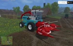 Скачать Менгеле 6800 Зерноуборочные для Farming Simulator 2015