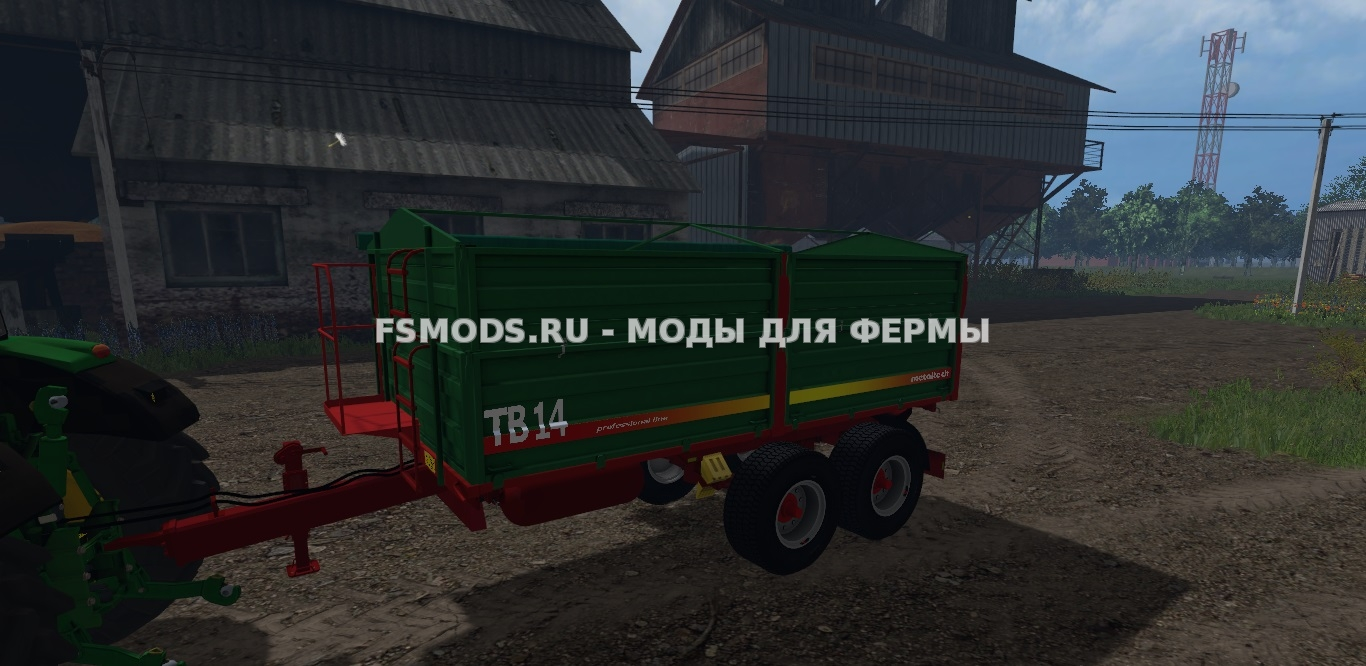 Скачать MetalTech TB 14 для Farming Simulator 2015