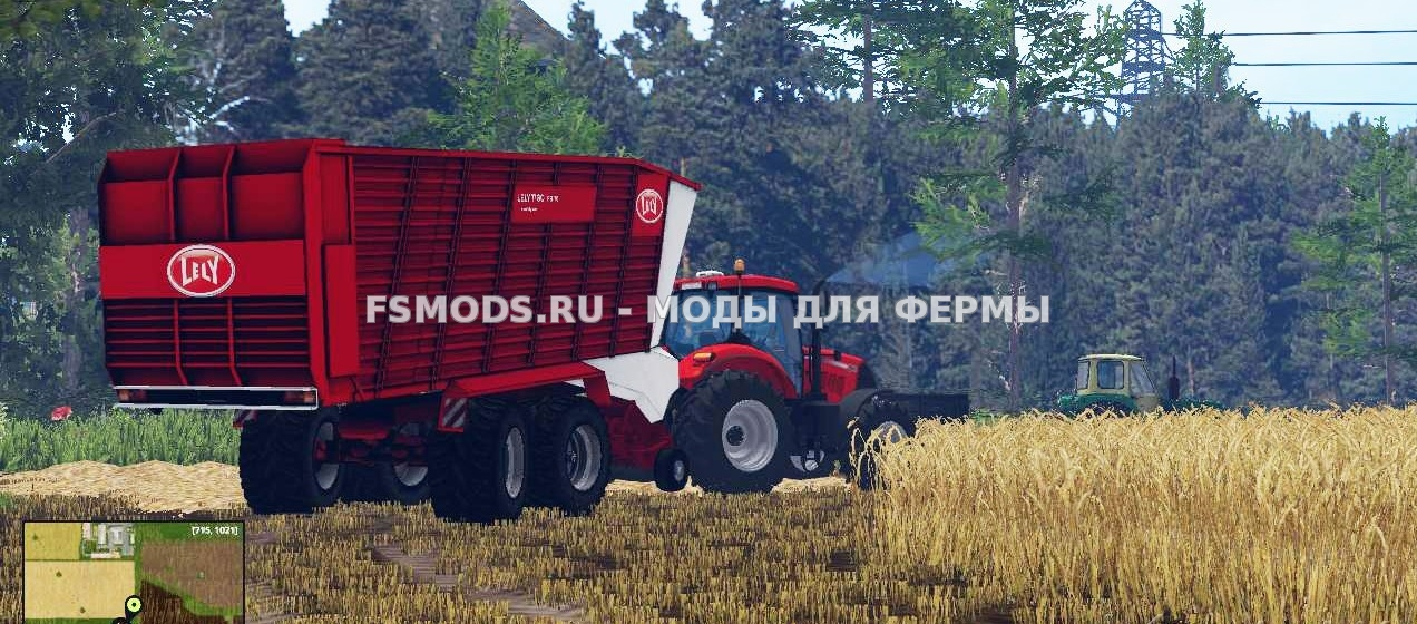 Скачать LELY TYGOPR70 для Farming Simulator 2015