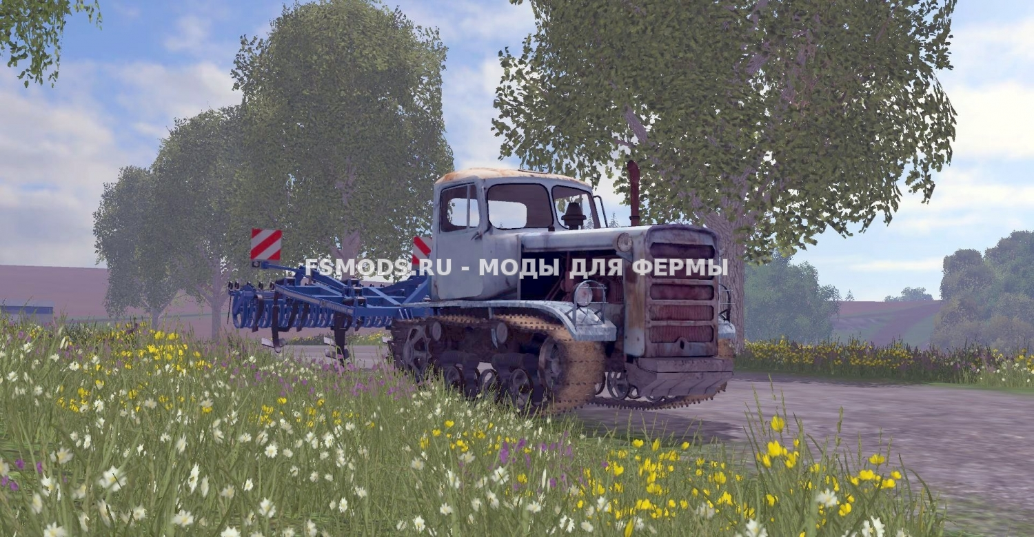 DT-75M KAZAKHSTAN для Farming Simulator 2015
