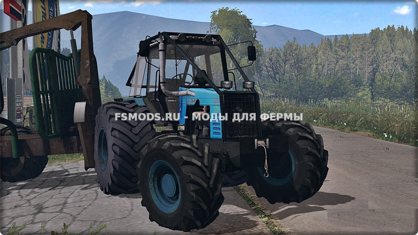 MTZ 1221 Forest для Farming Simulator 2015