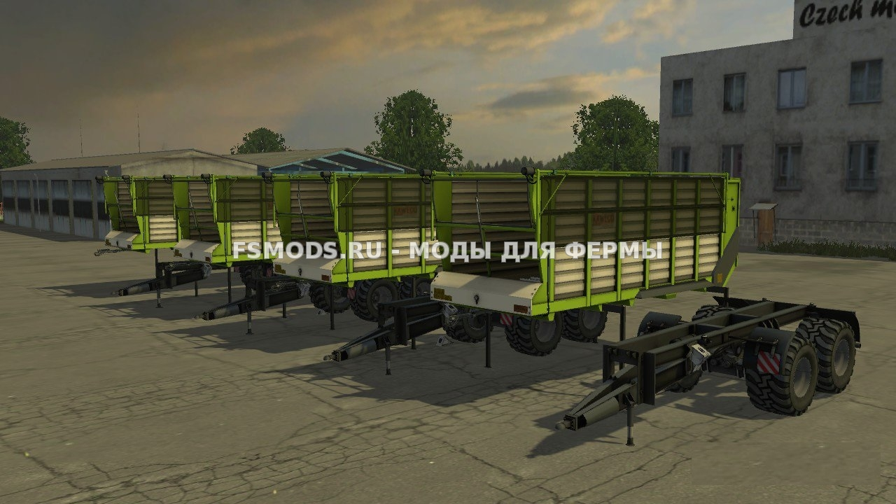 Скачать KAWECO RADIUM PACK для Farming Simulator 2015
