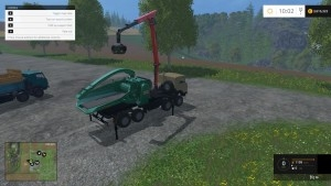 Скачать КАМАЗ 6350 JENZ ГРУЗОВИК V2.5 для Farming Simulator 2015