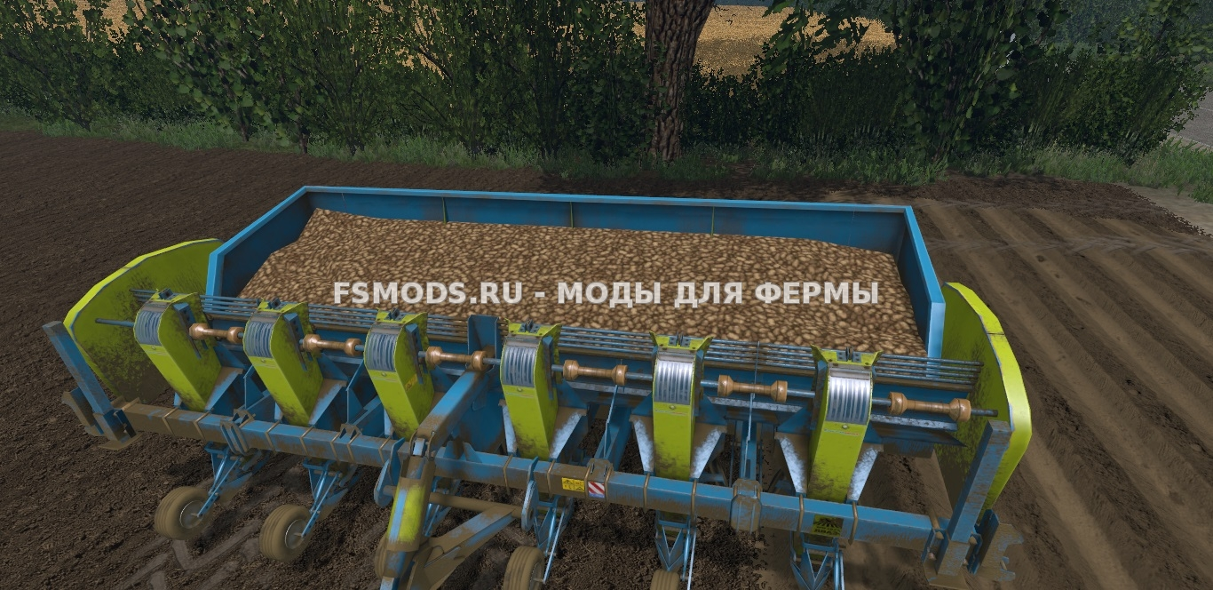 Скачать SPC-6 для Farming Simulator 2015