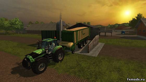 Straw power plant для Farming Simulator 2013