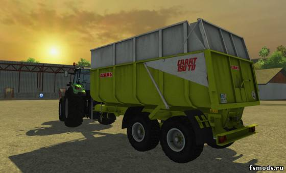 Claas Carat 180TD для Farming Simulator 2013
