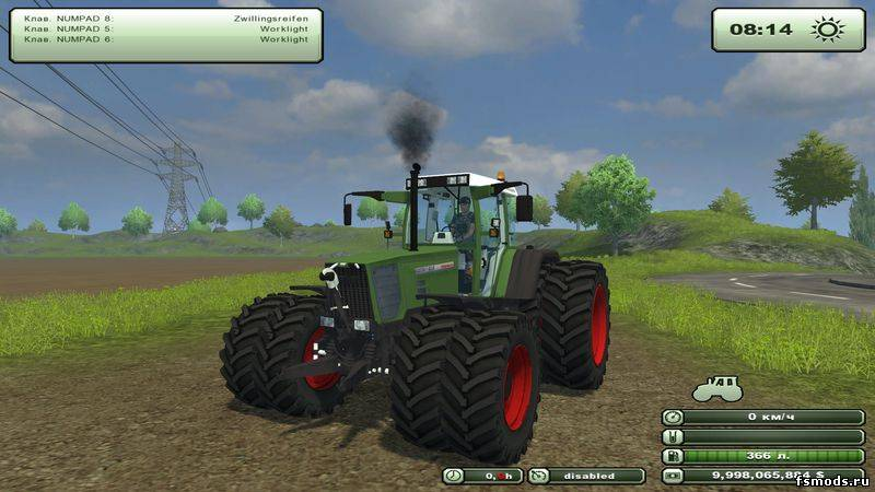 FENDT Favorit 818-Tu... для Farming Simulator 2013