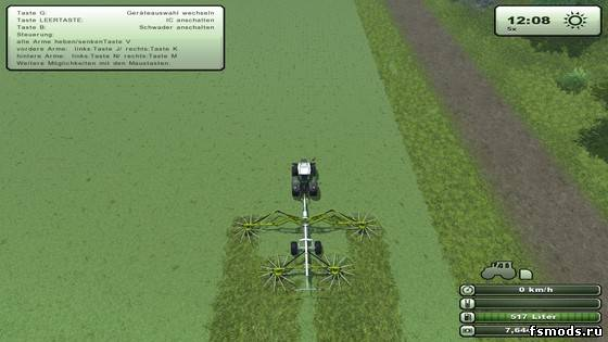 Скачать Claas Liner 4000 для Farming Simulator 2013