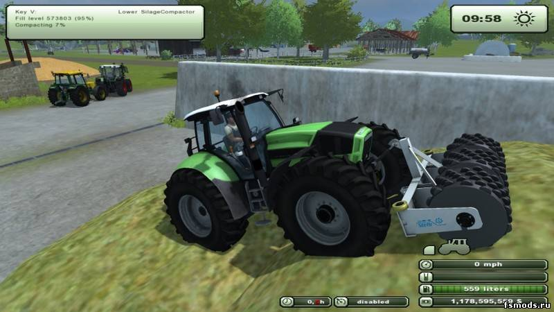 Каток для Farming Simulator 2013