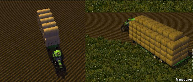 Прицеп UniversalBale для Farming Simulator 2013