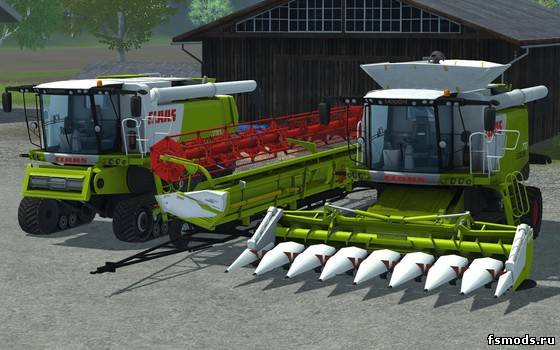 Claas Lexion 770 Ter... для Farming Simulator 2013