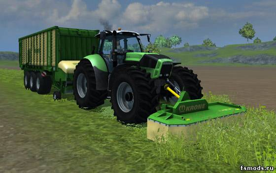 Krone EasyCut 28P для Farming Simulator 2013