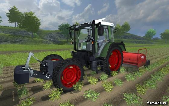 Fendt 380 GTA Turbo для Farming Simulator 2013