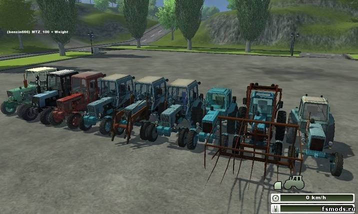 МТЗ АгроПАК для Farming Simulator 2013