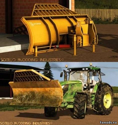 LAFORGE FRONT BLADE для Farming Simulator 2013