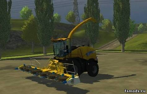 NEW HOLLAND FR9090 для Farming Simulator 2013