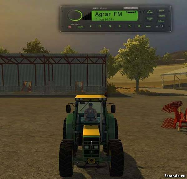 Мод радио для Farming Simulator 2013