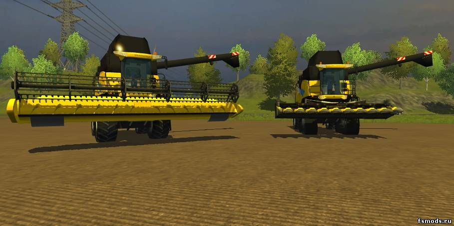 NEW HOLLAND CR9090 для Farming Simulator 2013
