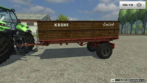 KRONE EMSLAND EDK MU... для Farming Simulator 2013