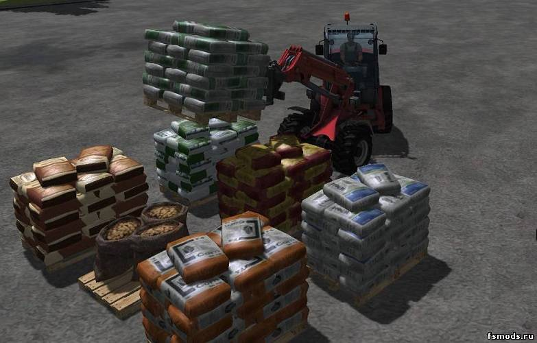 Saatgutpaletten для Farming Simulator 2013