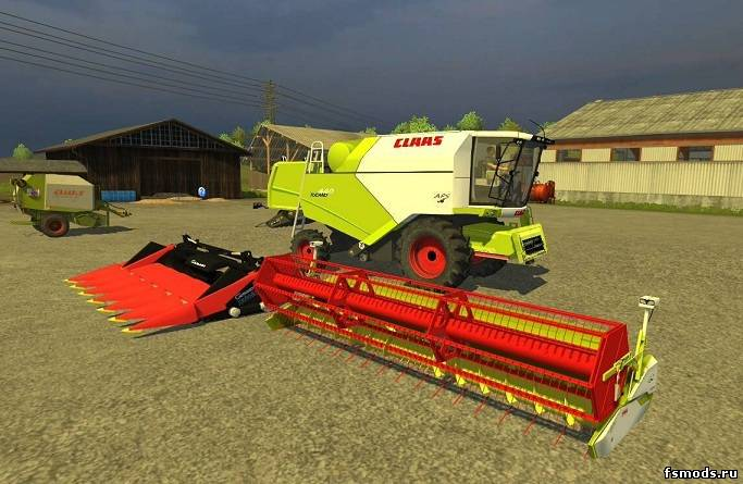 Скачать Claas Tucano 440 v2.1 для Farming Simulator 2013
