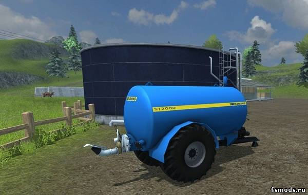 Fleming ST2000 для Farming Simulator 2013