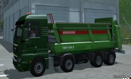 MAN TGX BergMann Man... для Farming Simulator 2013