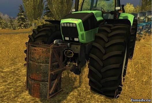 Скачать Weight 2100кг для Farming Simulator 2013