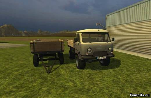 УАЗ 452 для Farming Simulator 2013