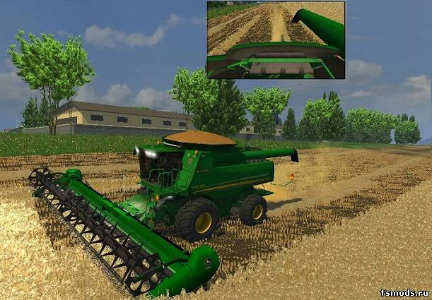 Скачать John Deere 9770 V.I.P для Farming Simulator 2013